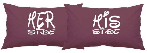 Pillowcases His & Hers