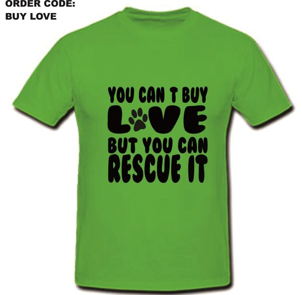 Buy Love T-Shirt Option 1 Round Neck