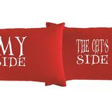 Pillowcases My Side & Cats Side