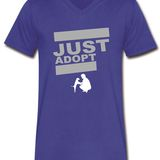 Adopt T-Shirt V-Neck & Long Sleeve