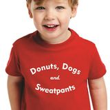 Dogs & Donuts T-Shirt Kids