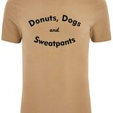 Dogs & Donuts T-Shirt Option 2 Round Neck