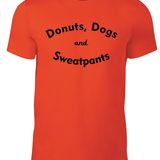 Dogs & Donuts T-Shirt Option 1 Round Neck