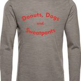 Dogs & Donuts V-Neck & Long Sleeve
