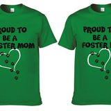 Foster Parent T-Shirt Round Neck S - XXXL