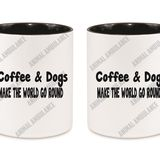 Mug Coffee & Dogs (11oz.)